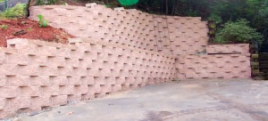 Alpharetta GA residential retaining wall