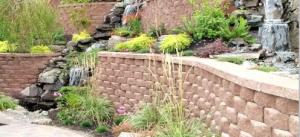 Cumming Modular Block Landscape Wall